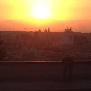 L'alba dal Gianicolo