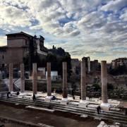 Le colonne svettanti, duemila anni dopo.