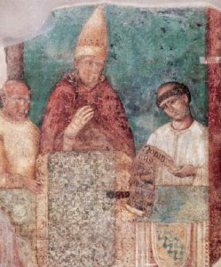 Bonifacio VIII indice il primo Giubileo