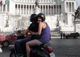 "Tour di Roma ""Mordi e fuggi"""
